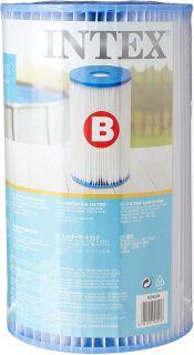 Intex Cartuccia Filtro B Grande - Altezza 25,4 cm, diametro esterno: 14,22 cm - Intex 29005