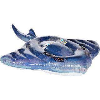 Materassino Gonfiabile per Piscina/Mare Manta Blu cm 188x145 Intex 57550