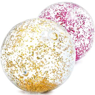 Inflatable Glitter Ball for Pool / Sea cm 51 Intex 58070 (various colors according to availability)