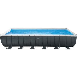 Intex Above Ground Rectangular Pool Ultra XTR Frame dim.732x366x132cm Sand Filter Combo, Ladder, Cloth, Cover