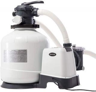 Pompa Filtro Intex a Sabbia Flusso Acqua 12mq/H, sistema 9,2 mq/H, per XTR 7,32-XTR rettangolare 9,75x4,88 e superiori