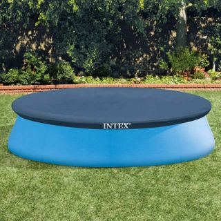 Intex 28021 Easy Set Pool Cover 305 cm diameter Blue
