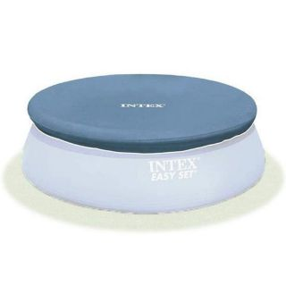 Intex 28026 Easy Set Pool Cover 396 cm diameter Blue