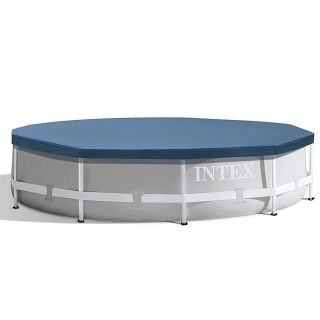 Telo di copertura per Piscina Metal Frame Intex 28030 diametro 305 cm Blu