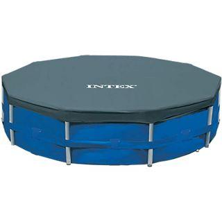 Telo di copertura per Piscina Metal Frame Intex 28031 diametro 366 cm Blu