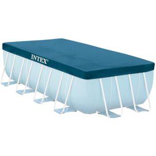 Intex 28037 Prism Frame Pool Cover Rectangular 389 x 184 x 25 cm Blue
