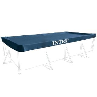 Intex 28039 Prism Frame Pool Cover Rectangular 460 x 230 x 20 cm Blue