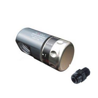 Kit Allaccio per Bombola Co2 da 1Kg Ricaricabile innesto tubo rapido da 8mm
