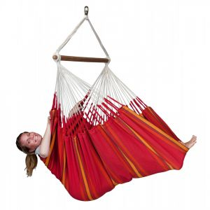 HAMMOCK suspended ceiling curved red CUL21-2