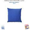 Federa In Tinta Per Cuscino Colore  Azzurro Un-3 (FS)