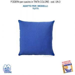 Cushion cover in blue color UN-3