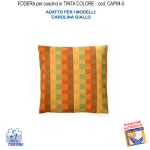 Cushion cover in yellow color CAP04-5