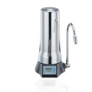 Digipure9000S Cromo - Sistema Completo Per Filtrazione Acqua Da Sopra Lavello