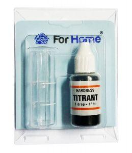 Test Analisi Durezza Totale Acqua Marca ForHome® Titrant Reagente Unico
