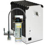 Depuratore Acqua ForHome® Refrigeratore Da Sotto Lavello Con Everpure 2 Vie Acqua Depurata Ambiente E Depurata Refrigera