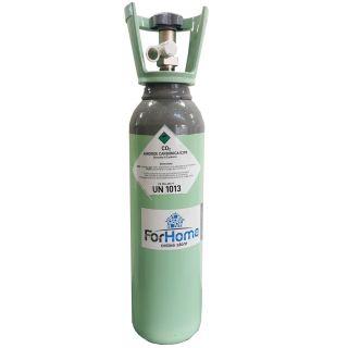 Bombola Co2 da 4Kg Nuova ForHome® Ricaricabile Con Valvola Residuale Certificata