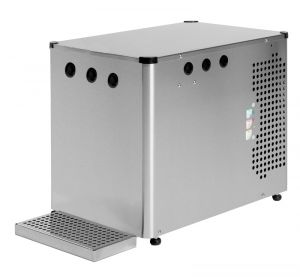 CHILLER CARBONATOR FOR BAR RESTAURANT FOR PURIFIED WATER FROM UNDER OR OVER BENCH 3 VIE SPARKLING WATER, COLD AND AMBIEN